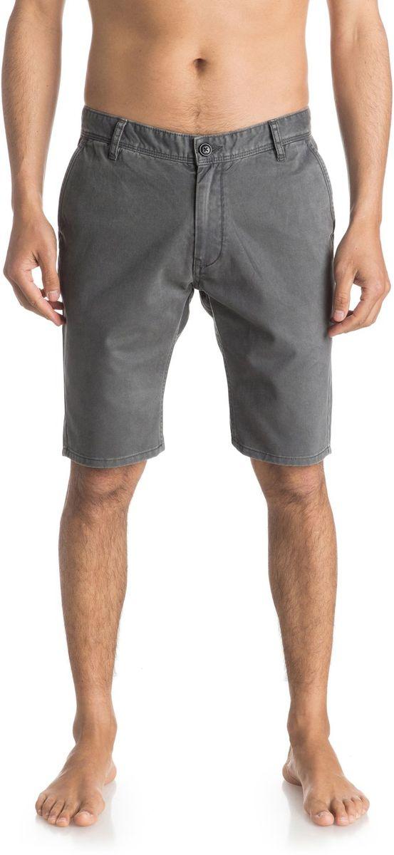 ШортыEQYWS03252-BQK0Шорты мужские Quiksilver изготовлены из качественной ткани. Модель длиной до колен застегивается на молнию и пуговицу. Изделие дополнено карманами.
