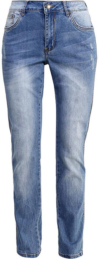 Джинсы женские Finn Flare, цвет: голубой. B17-15010_126. Размер 32-32 (48-32)B17-15010_126Стильные женские джинсы Finn Flare станут отличным дополнением к вашему гардеробу. Модель изготовлена из высококачественного хлопка с добавлением эластана, она великолепно пропускает воздух и обладает высокой гигроскопичностью. Застегиваются джинсы на пуговицу и ширинку на застежке-молнии. На поясе имеются шлевки для ремня. Эти модные и в тоже время удобные джинсы помогут вам создать оригинальный современный образ. В них вы всегда будете чувствовать себя уверенно и комфортно.