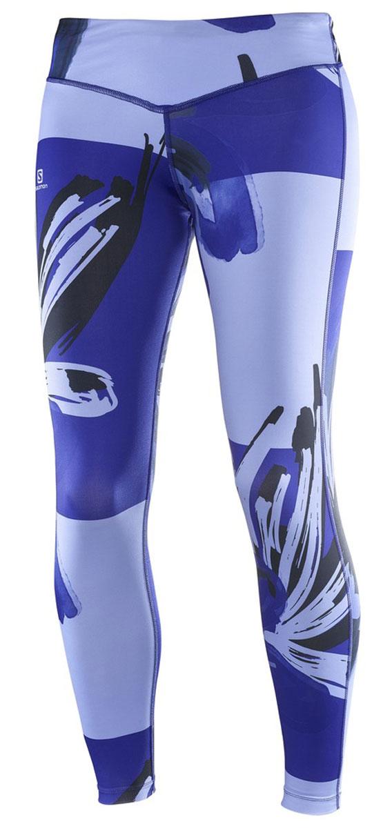 ТайтсыL39254300Эти узкие беговые брюки Salomon подойдут для любых активных занятий в любое время. Потрясающе! Универсальные мягкие дышащие облегающие брюки длиной 7/8. Широкий регулируемый ремень гарантирует идеальную и удобную посадку по любой фигуре. Выполненные из эластичного материала, брюки обеспечивают свободу движений.