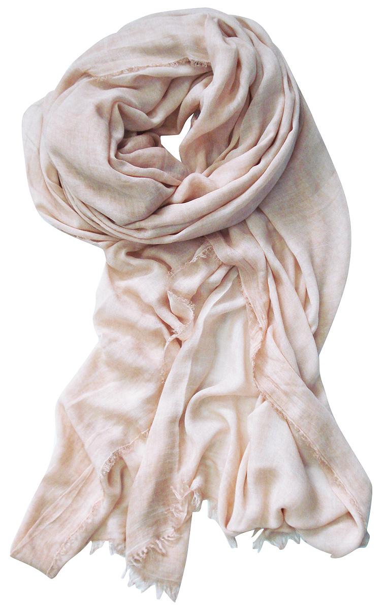 Палантин Laccom, цвет: бледно-розовый. 3212. Размер 180 см х 55 см3212SСтильный палантин Laccom изготовлен из вискозы и полиэстера. По краям имеется короткая бахрома. Изделия Laccom приятные на ощупь и подойдут к любому стилю.