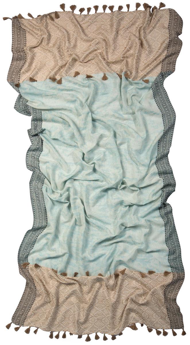Палантин3223GСтильный палантин Laccom изготовлен из вискозы и шелка. Модель оформлена декоративными кисточками. Изделия Laccom приятные на ощупь и подойдут к любому стилю.