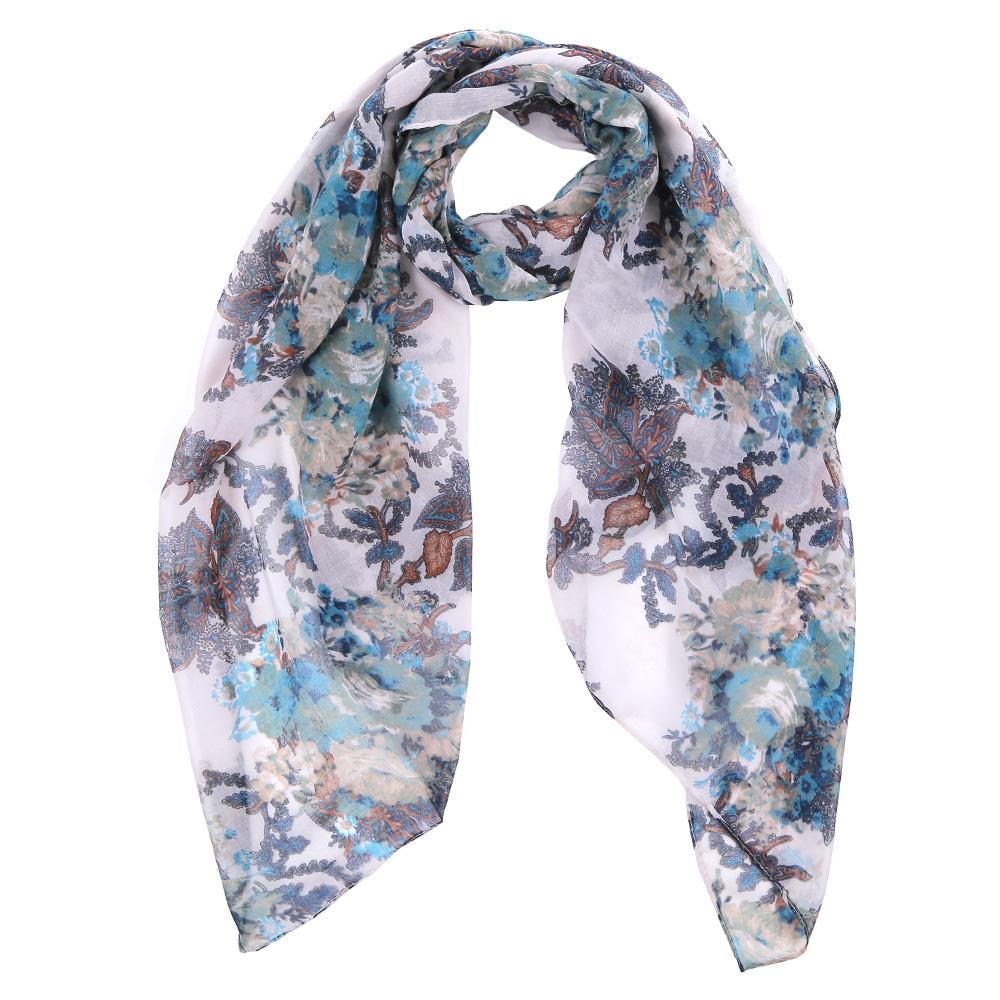 ШарфTUT008-1Элегантный женский шарф от итальянского бренда Fabretti имеет неповторимую мягкость и легкость фактуры. Красочное сочетание цветов позволило дизайнерам создать изысканную модель, которая станет изюминкой любого весеннего образа.