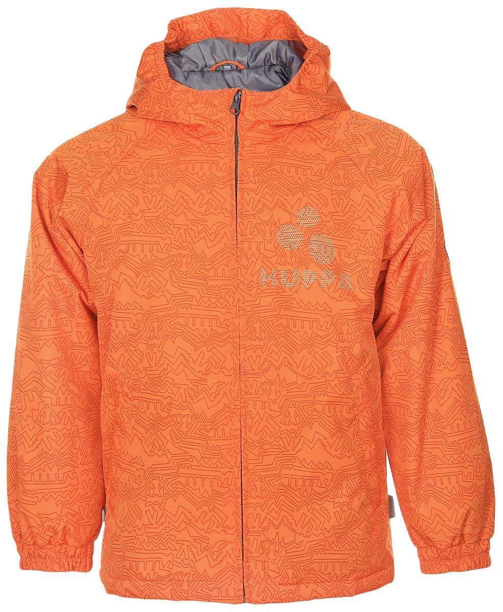 Куртка детская Huppa Classy 1, цвет: оранжевый. 17710010-922. Размер 10417710010-922Детская куртка Huppa изготовлена из водонепроницаемого полиэстера. Куртка с капюшоном застегивается на пластиковую застежку-молнию с защитой подбородка. Высокотехнологичный лёгкий синтетический утеплитель нового поколения сохраняет объём и высокую теплоизоляцию изделия. Края капюшона и рукавов собраны на внутренние резинки. У модели имеются два врезных кармана. Изделие дополнено светоотражающими элементами.Выдерживает температуру до -5°C.