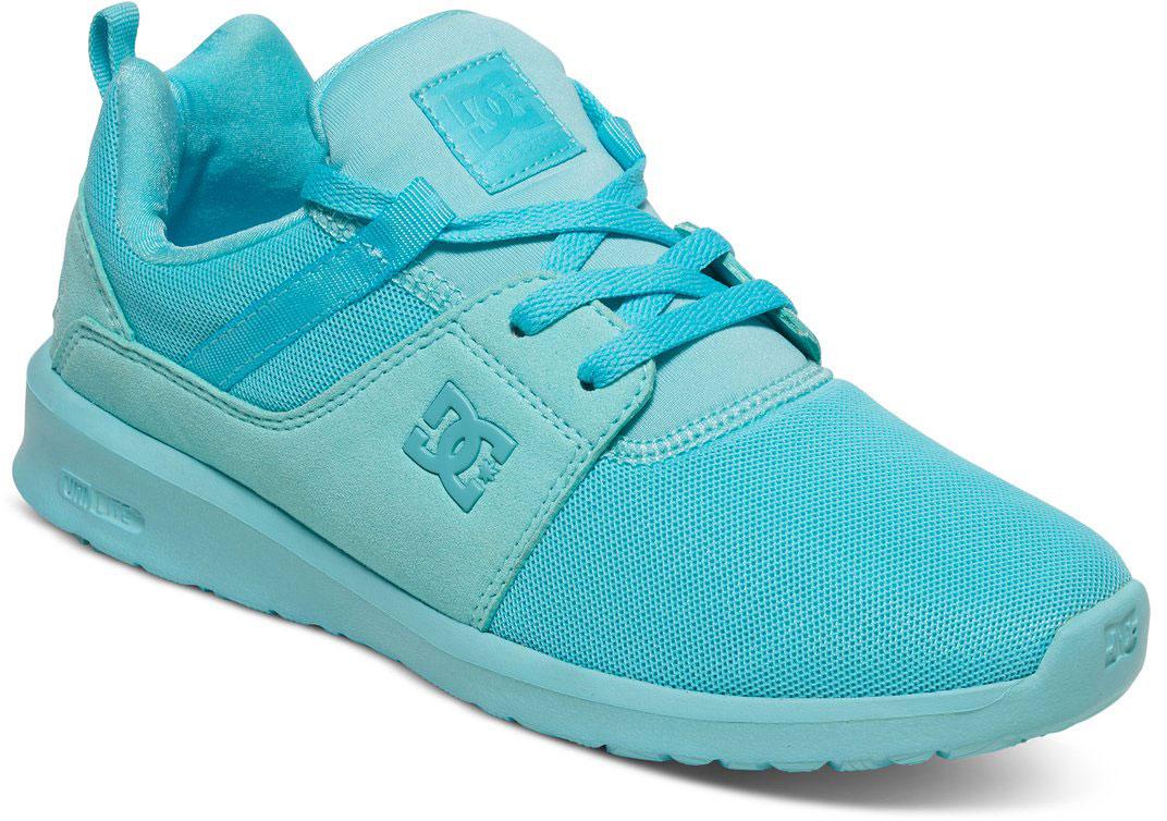 Кроссовки женские DC Shoes Heathrow, цвет: голубой. ADJS700021-MNT. Размер 8B (39)ADJS700021-MNTСтильные женские кроссовки DC Shoes Heathrow - отличный вариант на каждый день.Модель выполнена из текстиля. Шнуровка надежно фиксирует обувь на ноге. Резиновая подошва с протектором гарантирует отличное сцепление с поверхностью. В таких кроссовках вашим ногам будет комфортно и уютно.