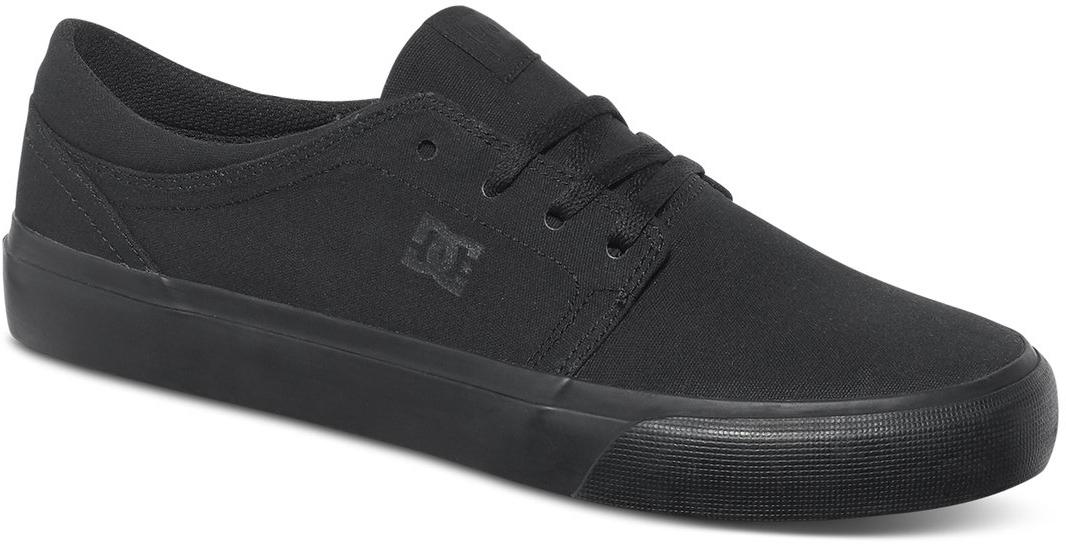 Кеды мужские DC Shoes Trase TX, цвет: черный. ADYS300126-3BK. Размер 7,5D (40)ADYS300126-3BKСтильные мужские кеды DC Shoes Trase TX - отличный вариант на каждый день.Модель выполнена из текстиля. Шнуровка надежно фиксирует обувь на ноге. Резиновая подошва с протектором гарантирует отличное сцепление с поверхностью. В таких кедах вашим ногам будет комфортно и уютно.
