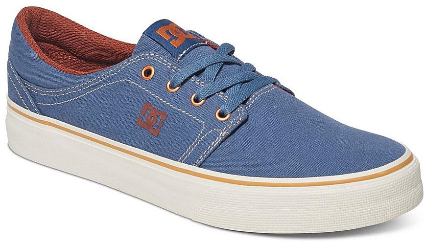 Кеды мужские DC Shoes Trase TX, цвет: синий. ADYS300126-VGO. Размер 7D (39)ADYS300126-VGOСтильные мужские кеды DC Shoes Trase TX - отличный вариант на каждый день.Модель выполнена из текстиля. Шнуровка надежно фиксирует обувь на ноге. Резиновая подошва с протектором гарантирует отличное сцепление с поверхностью. В таких кедах вашим ногам будет комфортно и уютно.