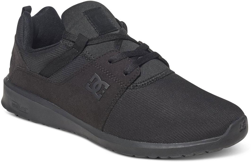 Кроссовки мужские DC Shoes Heathrow M, цвет: черный. ADYS700071-3BK. Размер 12D (45)ADYS700071-3BKСтильные мужские кроссовки DC Shoes Heathrow M - отличный вариант на каждый день.Модель выполнена из текстиля. Шнуровка надежно фиксирует обувь на ноге. Резиновая подошва с протектором гарантирует отличное сцепление с поверхностью. В таких кроссовках вашим ногам будет комфортно и уютно.