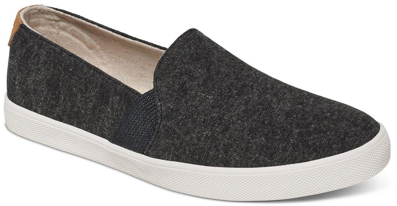 Слипоны женские Roxy Atlanta, цвет: черный. ARJS300275-BLK. Размер 7 (36)ARJS300275-BLKМодные женские слипоны Atlanta от Roxy придутся вам по душе. Модель выполнена из плотного текстиля. Эластичные вставки по бокам гарантируют идеальную посадку модели на ноге. Подкладка и мягкая стелька из текстиля обеспечат комфорт и предотвратят натирание. Подошва дополнена рифлением.