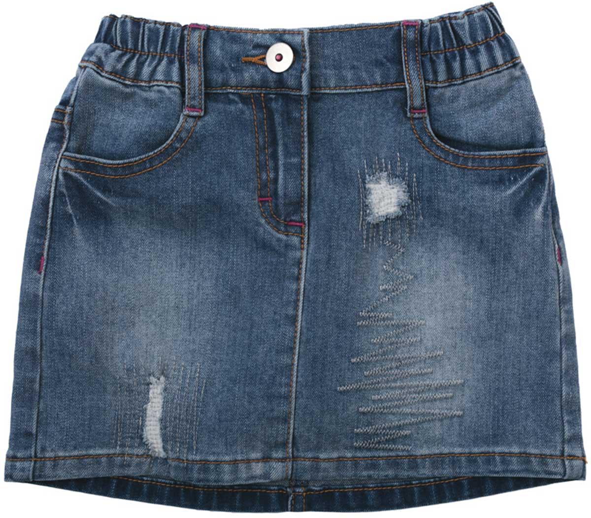 Юбка172062Яркая стильная юбка PlayToday станет хорошим дополнением детского гардероба. Юбка на резинке, мягкая ткань не сковывает движений ребенка. Материал приятен к телу и не вызывает раздражений.