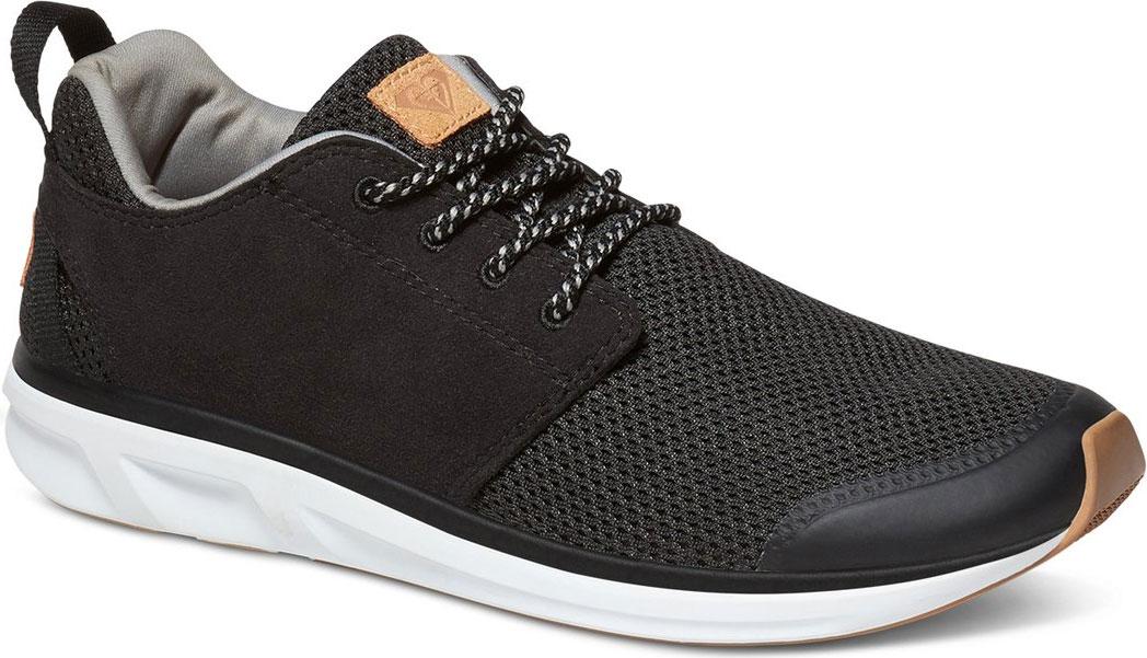 КроссовкиARJS700116-BK1Модные женские кроссовки Halcyon от Roxy выполнены из текстиля. Мыс модели защищен бесшовной накладкой из ПВХ. Подкладка и стелька из текстиля комфортны при движении. Шнуровка надежно зафиксирует модель на ноге. Подошва дополнена рифлением.