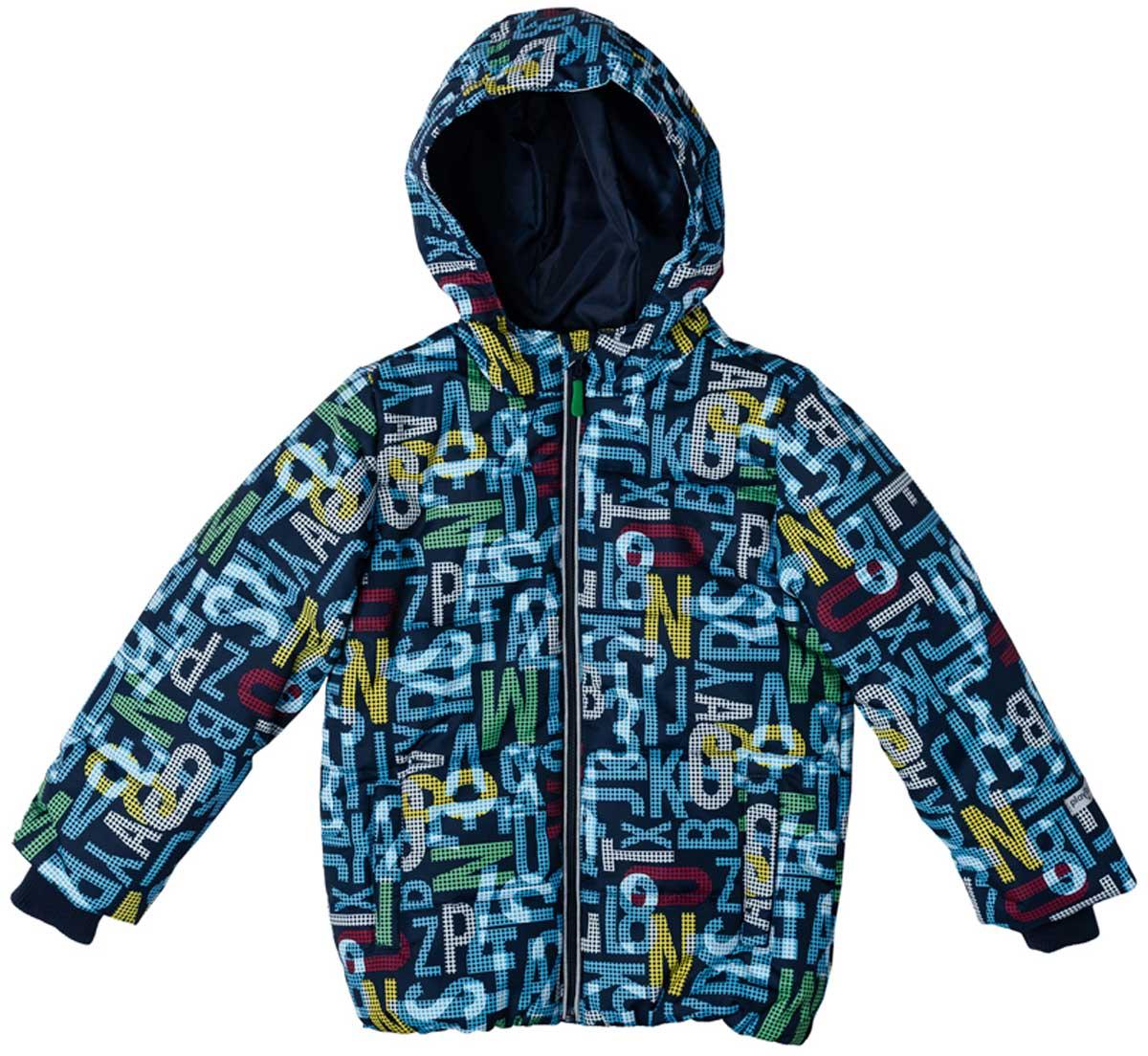Куртка171001Практичная утепленная куртка со специальной водоотталкивающей пропиткой защитит вашего ребенка в любую погоду! Мягкие трикотажные резинки на рукавах защитят вашего ребенка - ветер не сможет проникнуть под куртку. Специальный карман для фиксации застежки-молнии не позволит застежке травмировать нежную детскую кожу. Даже у самого активного ребенка капюшон не спадет с головы за счет удобного регулируемого шнура - кулиски. Модель снабжена светоотражателями на рукаве и по низу изделия - ваш ребенок будет виден даже в темное время суток