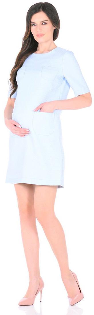 Платье3030512173Платье для беременных Mammy Size выполнено из полиэстера. Модель с круглым вырезом горловины и короткими рукавами.