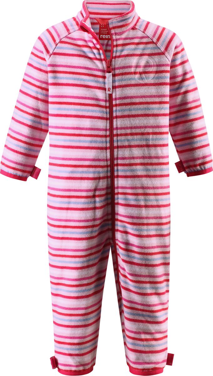 Комбинезон утепленный5162873360Комбинезон для малышей изготовлен из высококачественного флиса - теплого, легкого и быстросохнущего материала. Комбинезон совместим с одеждой из серии Play Layers его можно пристегнуть к комбинезонам, оснащенным кнопками Play Layers. Зимой он будет самой удобной одеждой промежуточного слоя, а в теплое время года послужит отличной верхней одеждой. Молния во всю длину поможет вам легко одеть вашего ребенка в этот теплый и удобный флисовый комбинезон.
