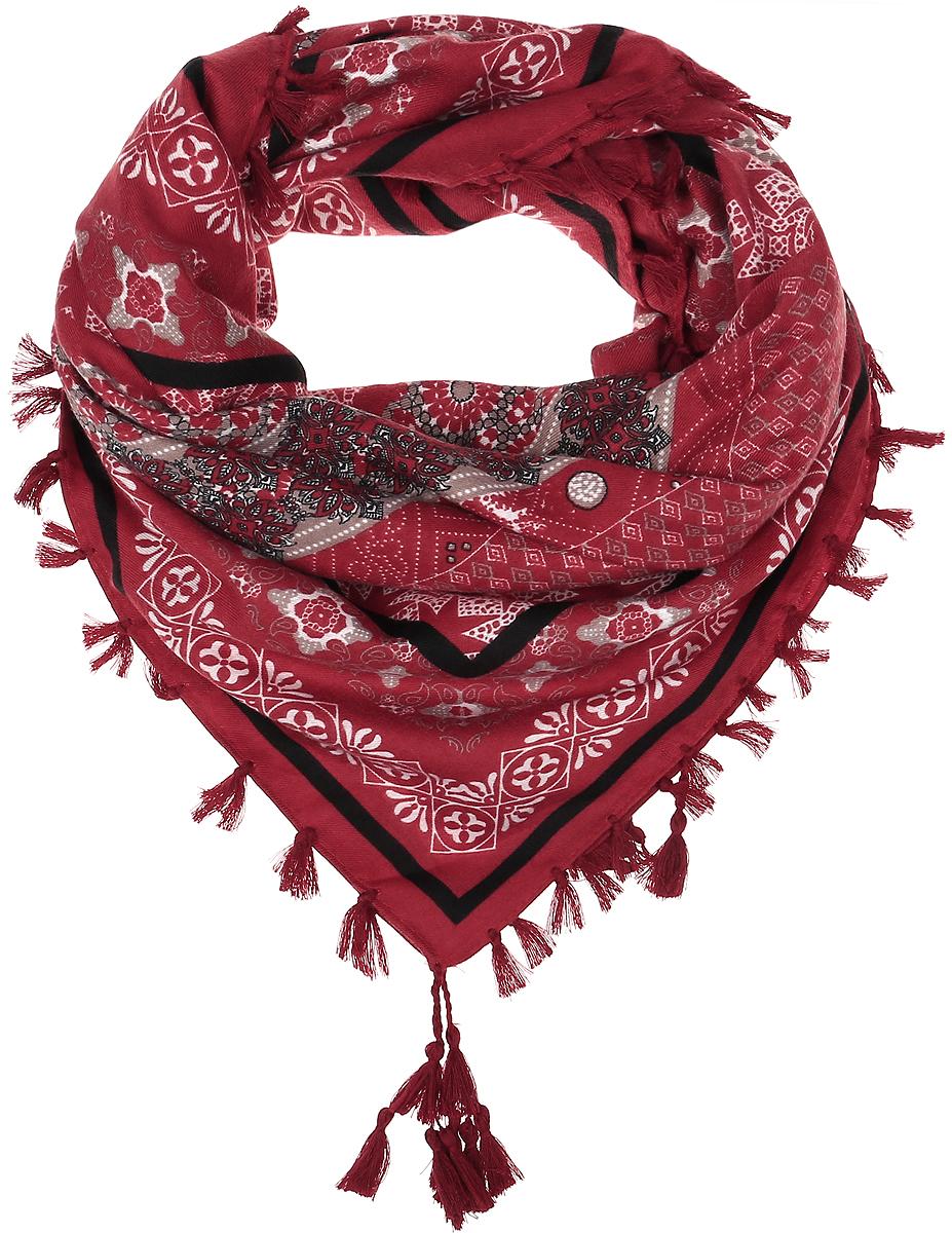 ПлатокRo01FC822-082Платок Vittorio Richi изготовлен из качественной вискозы с добавлением натуральной шерсти. Платок оформлен оригинальным цветочным орнаментом, по краям дополнен бахромой с кисточками.