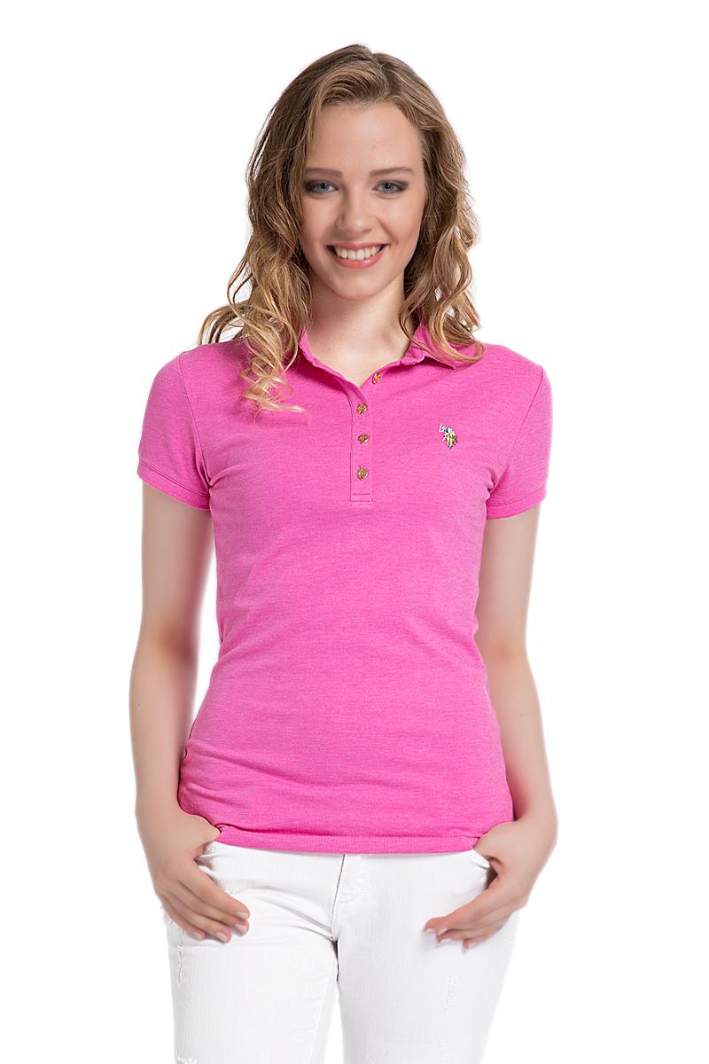 ПолоG082SZ0110MABELСтильная футболка-поло с короткими рукавами и отложным воротником выполнена из высококачественного материала. На груди модель застегивается на пуговицы.