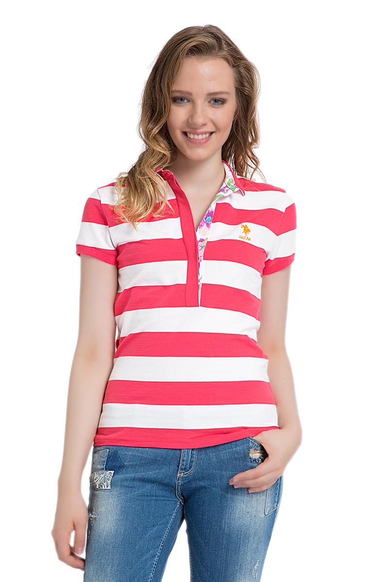 ПолоG082SZ0110MARLOСтильная футболка-поло с короткими рукавами и отложным воротником выполнена из натурального эластичного хлопка. На груди модель застегивается на пуговицы.