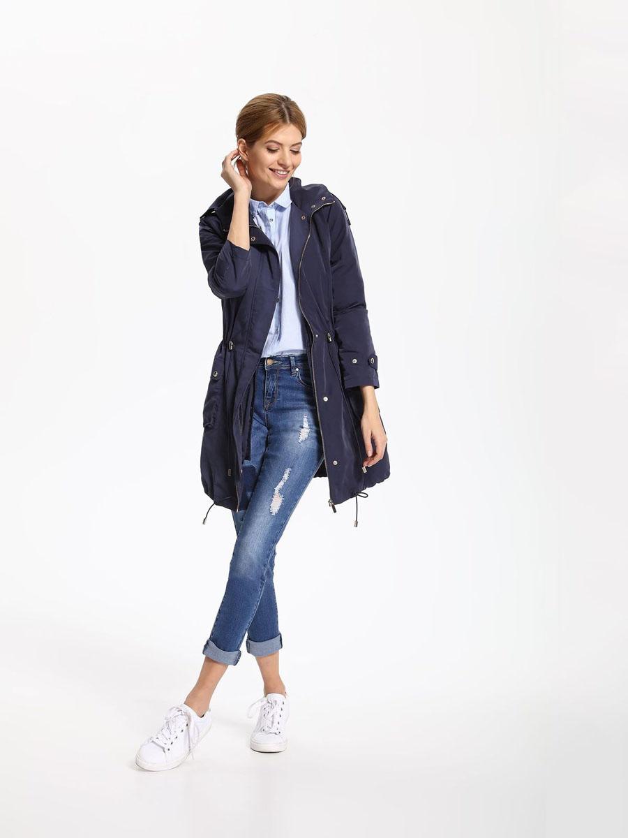 КурткаSKU0752GRСтильная женская куртка Top Secret отлично подойдет для прохладной погоды. Модель с капюшоном выполнена из высококачественного материала, застегивается на молнию и дополнительно ветрозащитным клапаном на кнопки. Внутри к куртке можно пристегнуть на пуговицы жилет, выполненный из полиэстера и утепленный тонким слоем синтепона. Изделие дополнено двумя небольшими карманами с клапанами на кнопках. Низ куртки и талия дополнены эластичными кулисками со стопперами. В такой куртке вы всегда будете чувствовать себя уютно и комфортно.