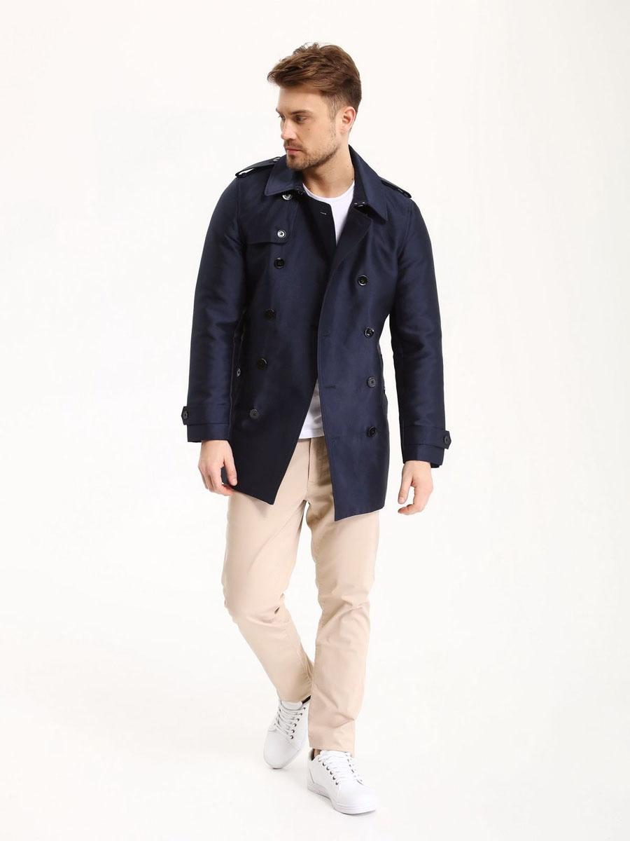 БрюкиSSP2469BEСтильные мужские брюки Top Secret - брюки высочайшего качества на каждый день, которые прекрасно сидят. Модель изготовлена из высококачественного хлопка и эластана. Застегиваются брюки на пуговицу в поясе и ширинку на молнии, имеются шлевки для ремня. Эти модные и в тоже время комфортные брюки послужат отличным дополнением к вашему гардеробу. В них вы всегда будете чувствовать себя уютно и комфортно.