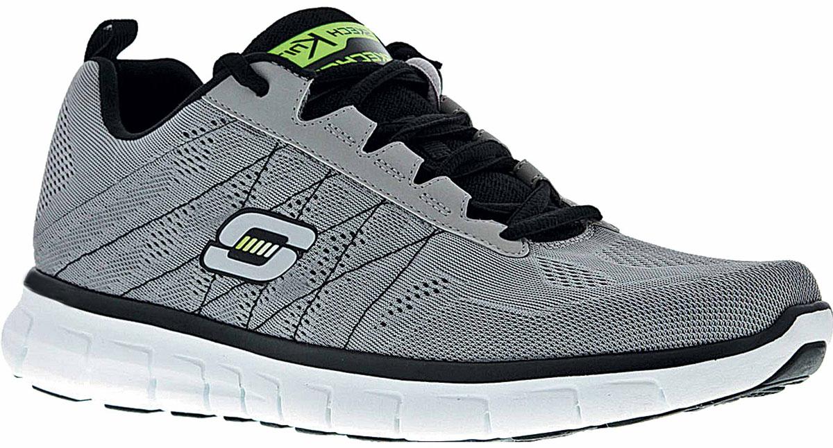 Кроссовки51188-LGBKСтильные мужские кроссовки Skechers отлично подойдут для активного отдыха и повседневной носки. Верх модели выполнен из текстиля. Удобная шнуровка надежно фиксирует модель на стопе. Подошва обеспечивает легкость и естественную свободу движений. Мягкие и удобные, кроссовки превосходно подчеркнут ваш спортивный образ и подарят комфорт.