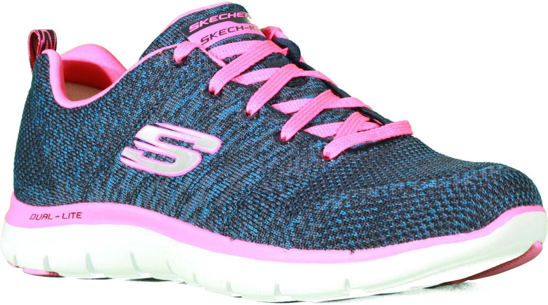 Кроссовки12756-NVHPСтильные легкие женские кроссовки Skechers подходят как для занятий спортом, так и для повседневных прогулок. Верх модели выполнен из дышащего текстиля. Классическая шнуровка надежно зафиксирует модель на стопе. Внутренняя отделка исполнена из мягкого текстиля. Гибкая анатомическая подошва имеет рельефный протектор, который обеспечивает надежное сцепление с поверхностью. В таких кроссовках вашим ногам будет комфортно и уютно. Они подчеркнут ваш стиль и индивидуальность!