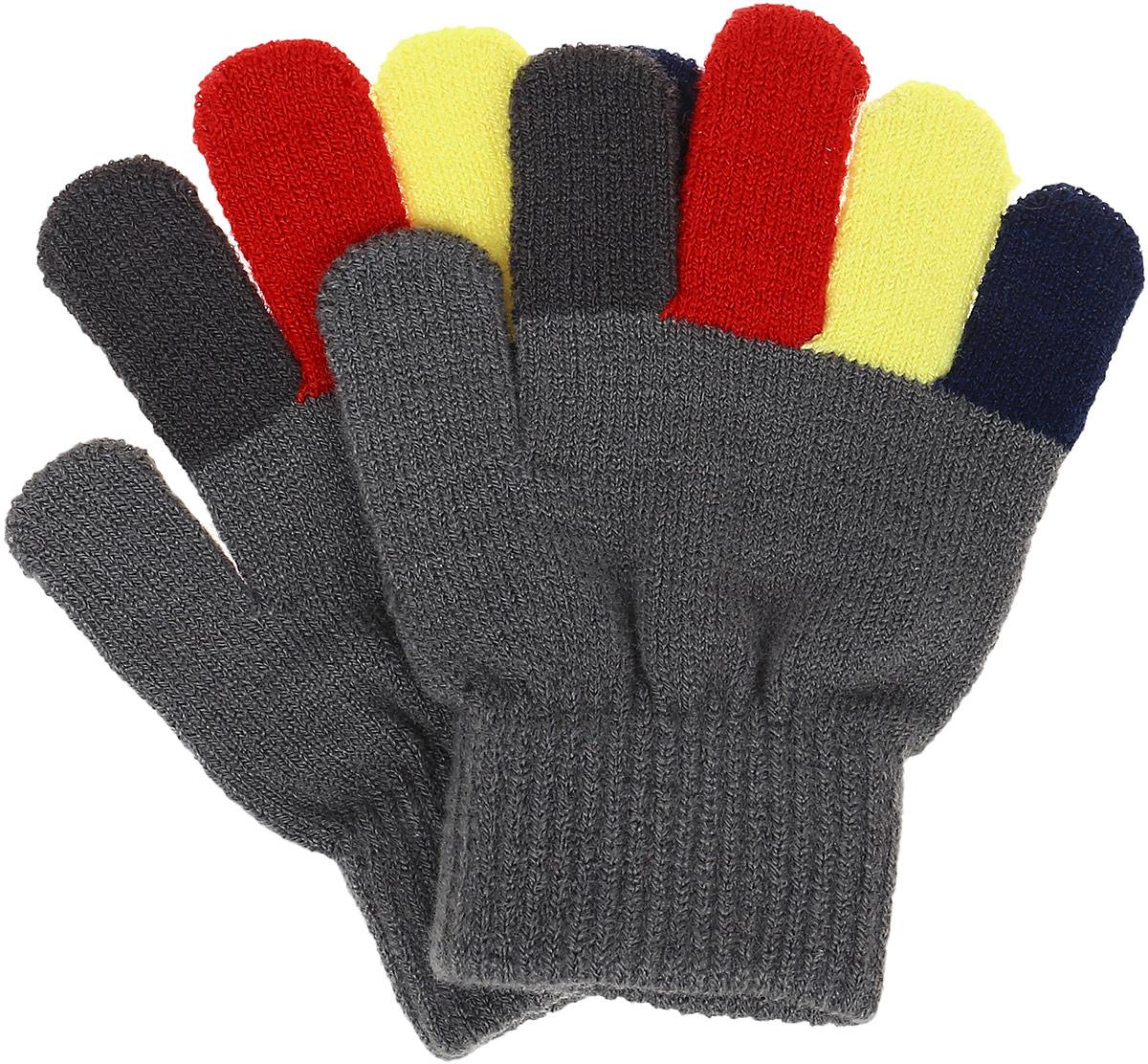 Перчатки детские361038Перчатки детские PlayToday изготовлены из качественного мягкого акрила. Верх перчаток дополнен широкой резинкой. Вязаные перчатки станут идеальным вариантом для прохладной погоды. Они очень мягкие, хорошо тянутся и прекрасно сохраняют тепло.
