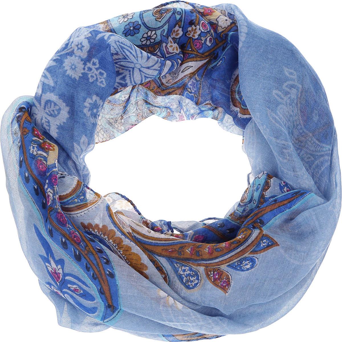 ШарфLeo37-FЭлегантный женский шарф от итальянского бренда Fabretti имеет неповторимую мягкость и легкость фактуры. Красочное сочетание цветов позволило дизайнерам создать изысканную модель, которая станет изюминкой любого весеннего образа.