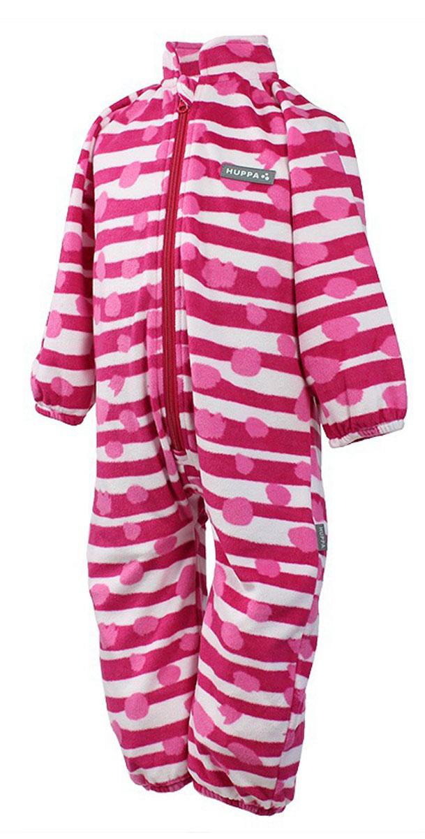 Комбинезон утепленный3304BASE-63363Детский комбинезон Huppa Roland - очень удобный и практичный вид одежды для малышей. Комбинезон выполнен из флиса, благодаря чему он необычайно мягкий и приятный на ощупь, не раздражает нежную кожу ребенка и хорошо вентилируется. Комбинезон с длинными рукавами и воротником-стойкой застегивается на пластиковую молнию с защитой подбородка. Рукава и штанины дополнены эластичными резинками. Спереди модель дополнена небольшой нашивкой с названием бренда. С детским комбинезоном спинка и ножки вашего ребенка всегда будут в тепле.