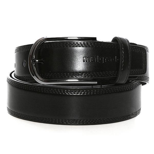 РеменьPGW60-XYX125Классический кожаный ремень торговой марки Malgrado. Полотно ремня прошито по краям тройной строчкой. Пряжка металлическая, зеркальная, цвет черный никель. Пряжка на винте, при необходимости самостоятельно переставляется на требуемую длину.