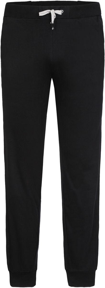 Брюки спортивные мужские Icepeak Lenny, цвет: черный. 757065573IV_990. Размер XL (54)757065573IV_990Трикотажные спортивные брюки Lenny для мужчин от Icepeak выполнены из плотного трикотажа. Модель на эластичном поясе с кулиской на шнурке имеет два боковых кармана, эластичный манжеты.