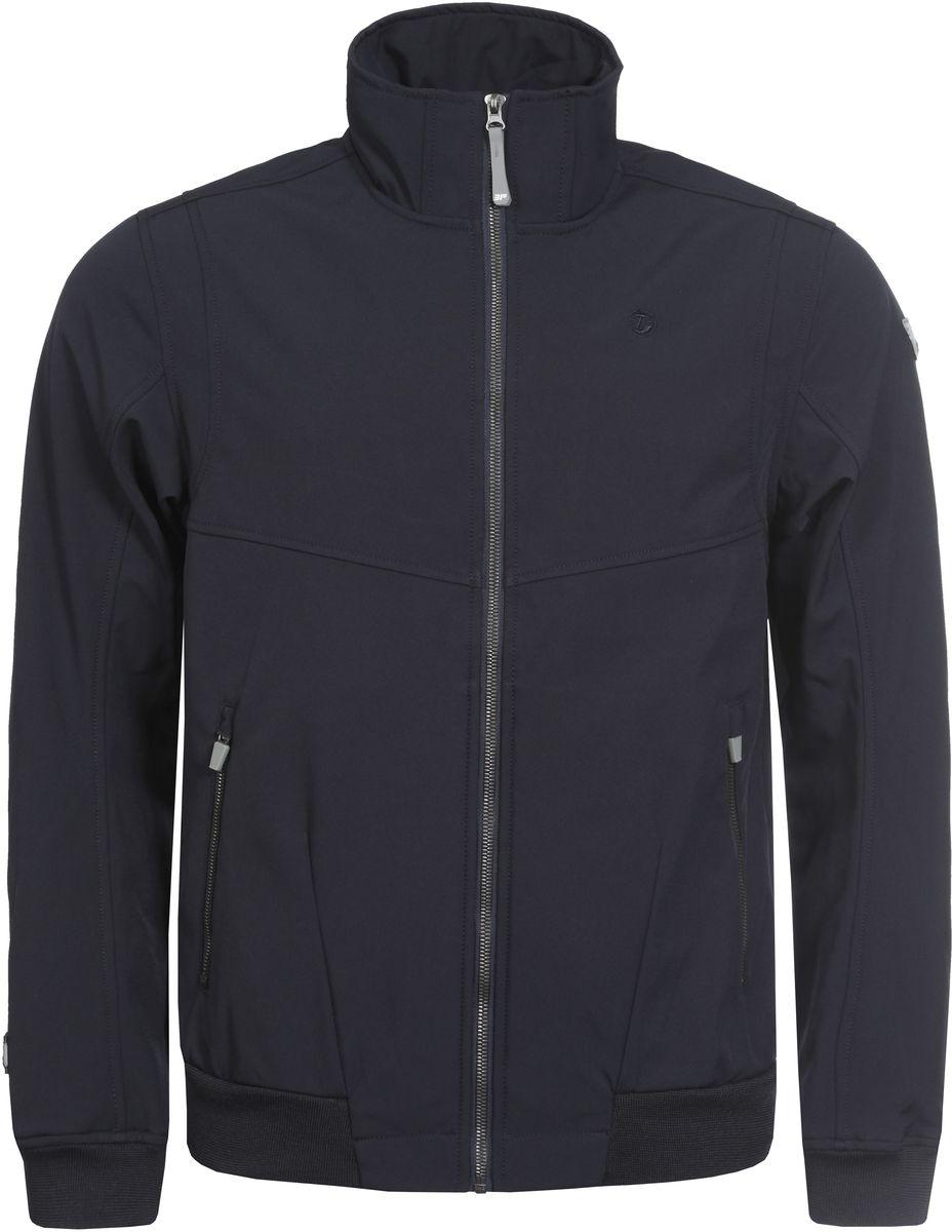 Куртка757853682IV_390Мужская куртка с подкладкой Icepeak выполнена из качественного полиэстера. Модель с длинными рукавами застегивается на застежку-молнию. Изделие дополнено двумя внешними карманами на молниях. Манжеты рукавов и низ куртки оформлены эластичными трикотажными вставками.