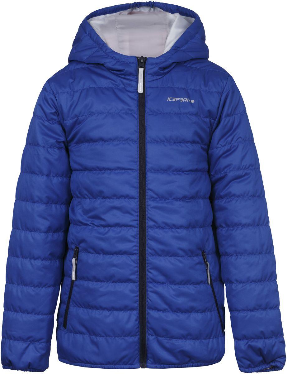 Куртка750018504IV_350Куртка для мальчика Icepeak выполнена из качественного материала. Модель с капюшоном и длинными рукавами застегивается на застежку-молнию. Изделие дополнено двумя врезными карманами на молниях.