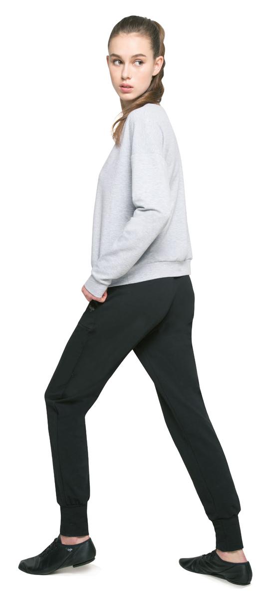 Брюки спортивные женские Grishko, цвет: черный. AL-3034. Размер L (48)AL-3034Спортивные брюки Grishko выполнены с высокой посадкой. Модель с карманами и манжетами по низу изделия изготовлена из плотного дышащего материала хлопок с лайкрой (футер). Это натуральная ткань, гладкая с лицевой стороны и ворсистая, приятная к телу с изнаночной. Модель создана для активных городских будней и беззаботных выходных за городом и позволяет везде чувствовать себя комфортно и непринужденно, не оставаясь при этом без внимания!