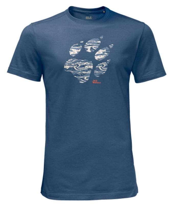 Футболка1805771-1588Футболка мужская Laguna Paw T M изготовлена из полиэстера и органического хлопка. Ткань легкая и мягкая, быстро сохнет, приятная на ощупь и очень прочная. Модель имеет круглый вырез горловины и короткие стандартные рукава. Футболка дополнена логотипом бренда. В такой футболке вам будет комфортно весь день, она универсальна и подходит для повседневной жизни так же хорошо, как и для активного отдыха на природе.