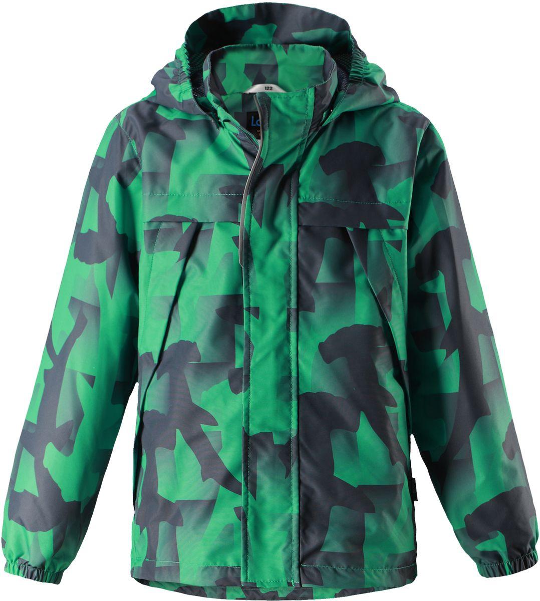 Куртка721707R6691Легкая и удобная куртка для мальчиков на весенне-осенний период. Она изготовлена из водоотталкивающего и ветронепроницаемого, но при этом дышащего материала. Куртка снабжена дышащей и приятной на ощупь подкладкой на легком утеплителе, которая облегчает одевание. Съемный капюшон обеспечивает защиту от холодного ветра, а также безопасен во время игр на свежем воздухе! Благодаря регулируемому подолу эта модель свободного покроя отлично сидит по фигуре. Снабжена множеством продуманных элементов, например, передними карманами и эластичными манжетами.