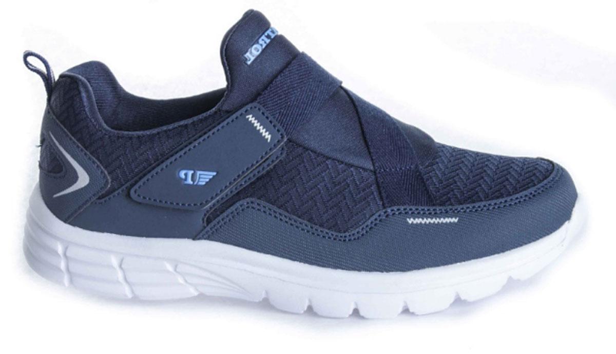 Кроссовки763-007T-17s-8/01-16Стильные кроссовки от Patrol - отличный выбор для вашего мальчика на каждый день. Верх модели выполнен из плотного текстиля искусственной кожи. Ремешок с липучкой на подъеме обеспечивает надежную фиксацию обуви на ноге. Подкладка и стелька из текстильного материала создают комфорт при носке. Подошва выполнена из легкого пенопропилена. Рифление на подошве обеспечивает отличное сцепление с любой поверхностью. Модные и комфортные кроссовки - необходимая вещь в гардеробе каждого ребенка.