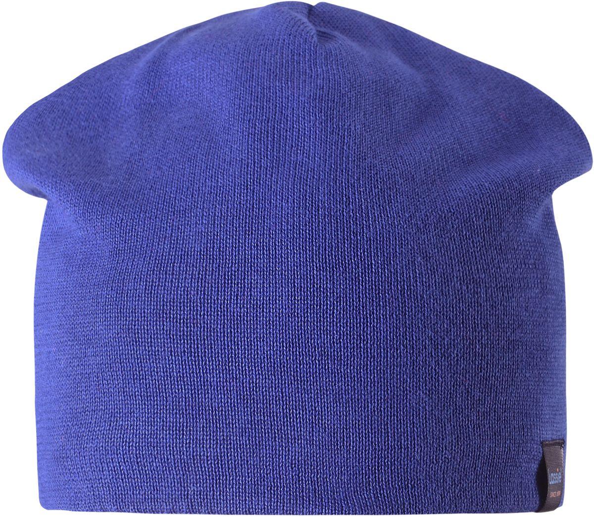 Шапка детская7287093400Удобная эластичная детская трикотажная шапка из хлопка подойдет к любой одежде и на все случаи жизни. Полная трикотажная подкладка из хлопкового трикотажа гарантирует тепло, а ветронепроницаемые вставки для ушей защищают уши от холодного ветра.