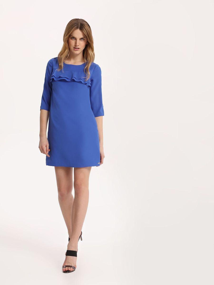 ПлатьеSSU1842NIПлатье Top Secret выполнено из полиэстера. Модель с круглым вырезом горловины и рукавами 3/4.