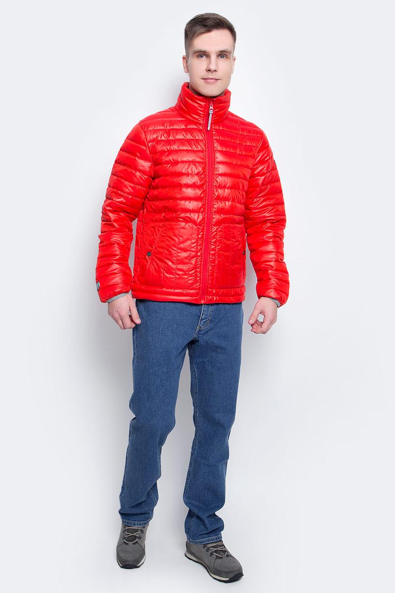 Куртка756055877XV_645Мужская куртка с подкладкой Icepeak выполнена из качественного полиэстера. Модель с длинными рукавами застегивается на застежку-молнию. Изделие дополнено двумя накладными карманами на кнопках.