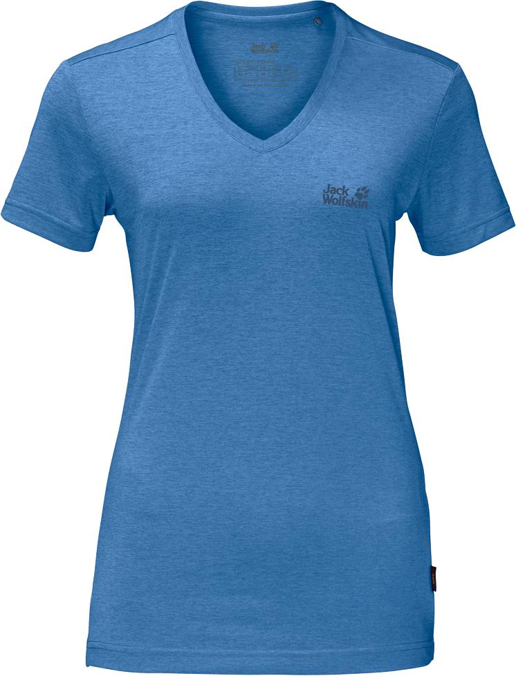 Футболка1801692-1255Футболка женская Crosstrail T W изготовлена из 100% полиэстера. Ткань приятно охлаждает кожу во время интенсивных нагрузок и предотвращает появление неприятного запаха. Когда вы выкладываетесь на все сто процентов во время тренировок или походов, ваша футболка активна - она быстро отводит влагу наружу и неизменно обеспечивает ощущение сухости при носке. Модель имеет V- образный вырез горловины и короткие стандартные рукава. Футболка дополнена логотипом бренда.