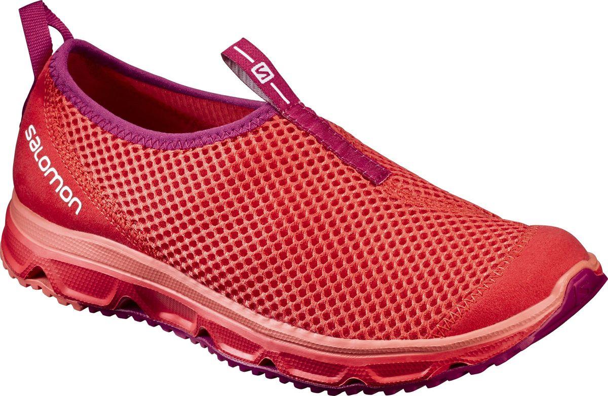 Кроссовки женские Salomon Rx Moc 3.0 W, цвет: коралловый. L39244500. Размер 5,5 (37)L39244500Женские кроссовки от Salomon незаменимая обувь в вашем гардеробе . Модель, выполненная из высококачественного материала, дарит комфорт и легкость во время ходьбы или бега. Верх изделия оформлен плетением. На заднике кроссовки декорированы логотипом бренда. Рифленая подошва обеспечит прочное сцепление с любой поверхностью. Такие кроссовки помогут ногам расслабиться после долгих и утомительных тренировок.