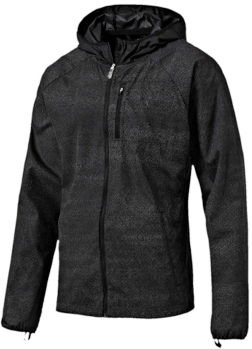 Ветровка51496201Ветровка мужская NightCat Jacket изготовлена с использованием высокофункциональной технологии windCELL, обеспечивающей надежную защиту от ветра и поддерживающей естественную терморегуляцию даже во время интенсивных нагрузок. Вентиляционные прорези на спине препятствуют перегреву. Два кармана с боков и карман на молнии на груди станут надежным местом хранения ваших вещей. Ветровка декорирована спереди и сзади логотипом и другими элементами из переливающегося светоотражающего материала, включая язычки застежек-молний, благодаря чему вас хорошо видно с любого ракурса в темное время суток. Кроме того, на переднюю часть, на рукава и на верхнюю часть спины нанесен рисунок, который благодаря использованию новейших материалов не виден днем, но начинает светиться только в темноте. Отверстия для больших пальцев в удлиненных манжетах, надежно защищающих от холода кисти рук, обработаны мягким материалом.