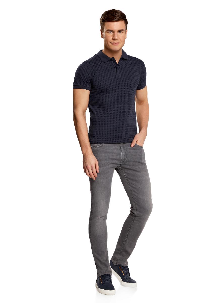 Поло5L412243M/46820N/7979GМужская футболка-поло с короткими рукавами и отложным воротником выполнена из натурального хлопка. Модель, оформленная графическим принтом, на груди застегивается на пуговицы.