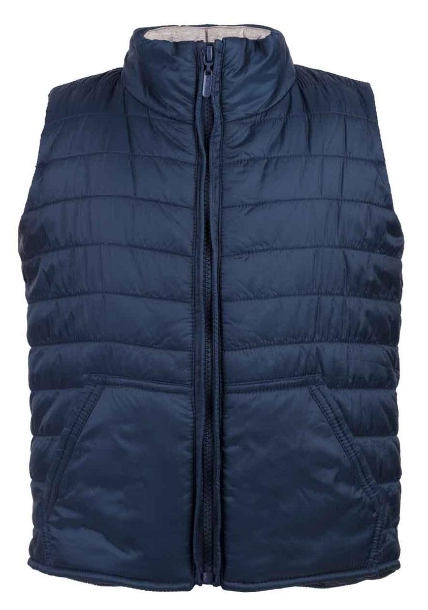 Жилет утепленный117BBUC47011000Стеганый жилет - модная вещь весенне-летнего сезона. Трикотажная подкладка обеспечивает комфорт, красивый цвет дарит отличное настроение. Если вы хотите, чтобы ваш ребенок был в тренде, вам нужно купить утепленный жилет от Button Blue. Он создаст тепло и уют, и сделает любой комплект динамичным и интересным.