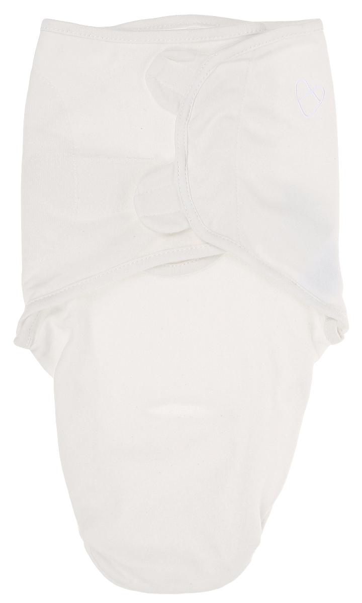 Конверт для новорожденного Summer Infant SwaddleMe, цвет: молочный. 55796. Размер S/M55796Конверт для новорожденного Summer Infant полностью выполнен из натурального хлопка и оформлен фирменной вышивкой. Модель застегивается с помощью липучек на крыльях, регулирующих объем. Мягко облегая, конверт не ограничивает движение ребенка.