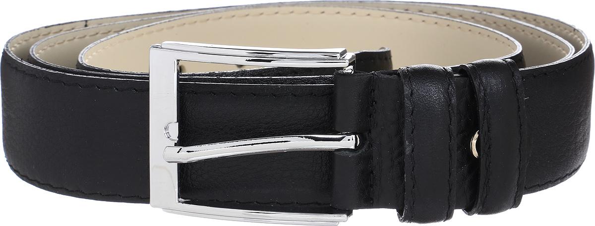 Ремень мужской Vitta pelle, цвет: черный. 02-35/2006. Размер 11502-35/2006Ремень, выполненный из натуральной кожи. Длина регулируется.