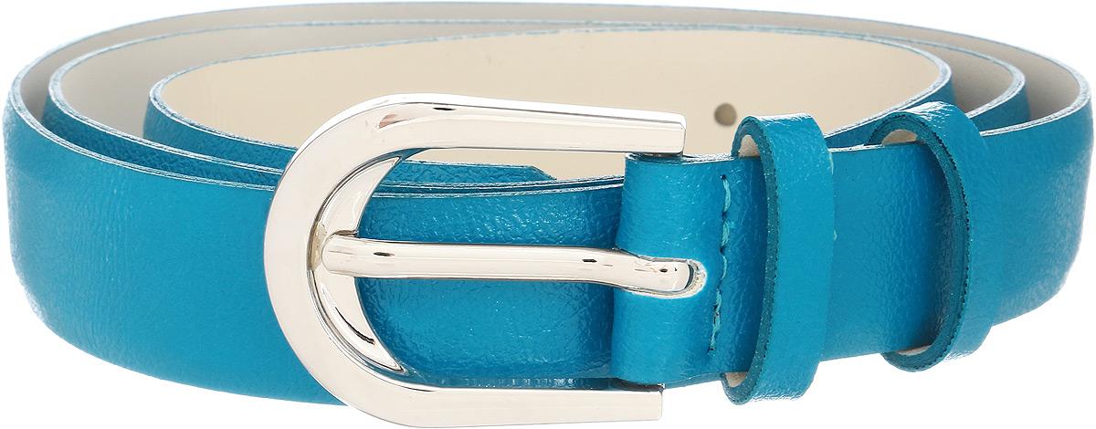 Ремень женский Vittorio Richi, цвет: голубой. 1008-ZK1468/s. Размер 1051008-ZK1468/sРемень, выполненный из экокожи. Длина регулируется.