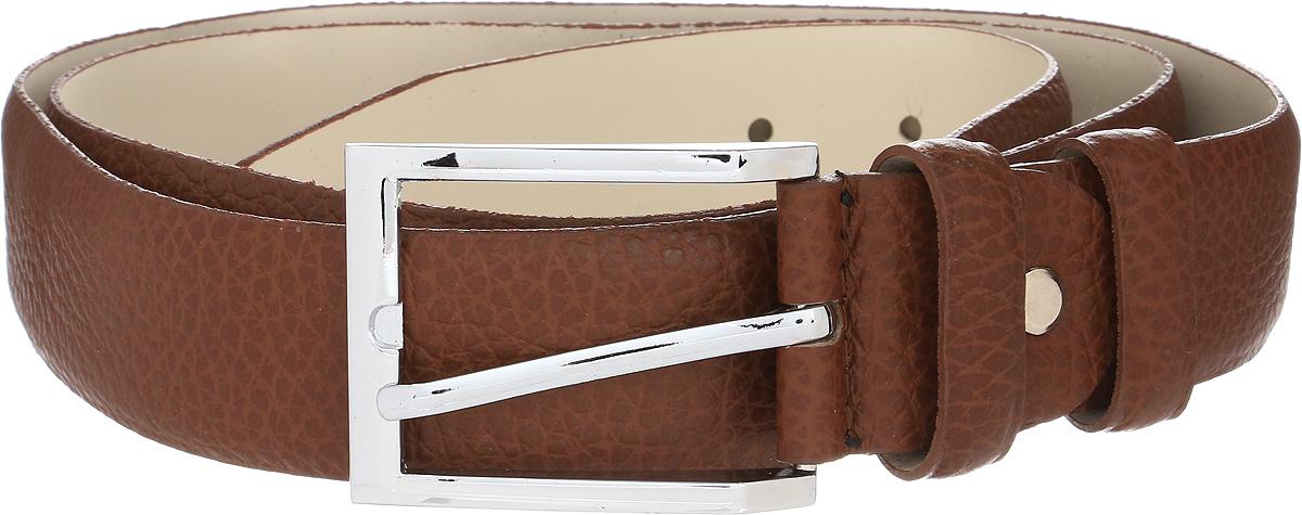 Ремень мужской Vitta pelle, цвет: светло-коричневый. 02-35/2002. Размер 11502-35/2002Ремень, выполненный из натуральной кожи. Длина регулируется.