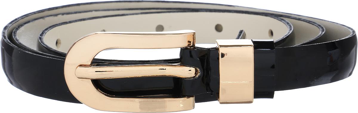 Ремень женский Vittorio Richi, цвет: черный. 1007-PT1022/z. Размер 1051007-PT1022/zРемень, выполненный из экокожи. Длина регулируется.