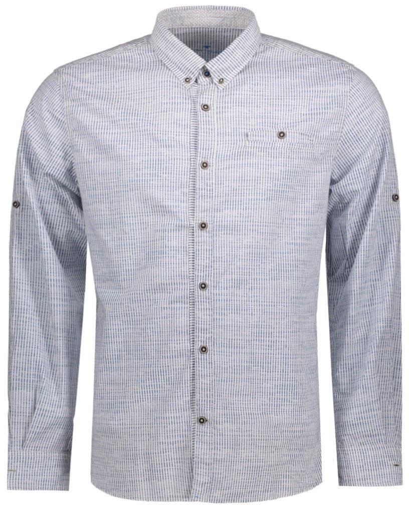 Рубашка мужская Tom Tailor, цвет: черный, белый. 2033228.62.10_6740. Размер S (46)2033228.62.10_6740Мужская рубашка Tom Tailor поможет создать отличный современный образ. Модель изготовлена из хлопка. Рубашка с отложным воротником и длинными рукавами застегивается по всей длине на пуговицы. На груди предусмотрен прорезной карман на пуговице. Манжеты рукавов оснащены застежками-пуговицами.Оформлено изделие принтом в мелкую клетку.Такая рубашка станет стильным дополнением к вашему гардеробу, она подарит вам комфорт в течение всего дня!