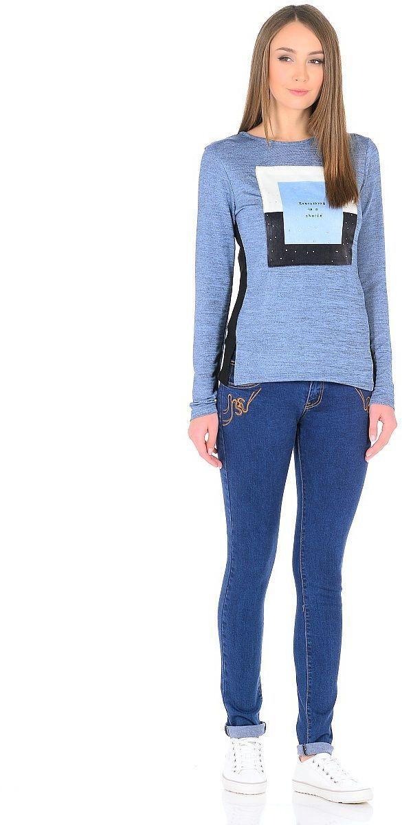 ДжинсыWZ-1751CСтильные женские джинсы Milton выполнены из хлопка с добавлением полиэстера и спандекса. Материал мягкий на ощупь, не сковывает движения и позволяет коже дышать. На поясе предусмотрены шлевки для ремня. Джинсы со средней посадкой застегиваются на пуговицу в поясе и ширинку на застежке-молнии.